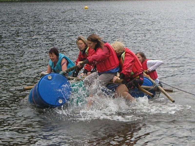 Raft Build & Race Challenge (North & South)